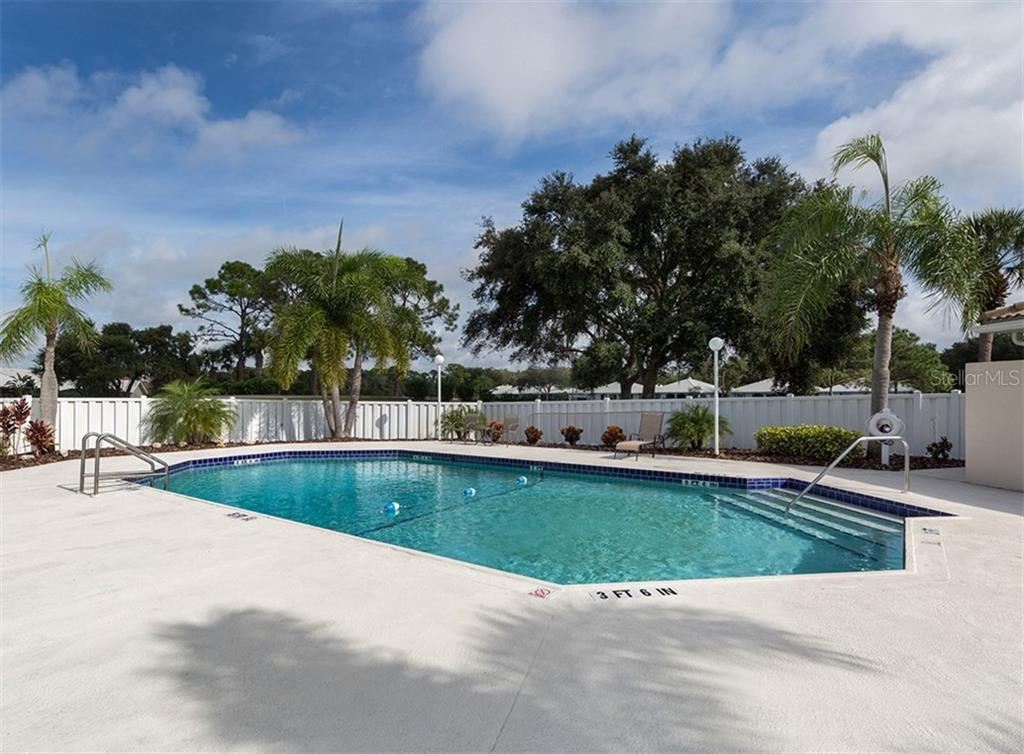 Saint George Community Pool - Single Family Home for sale at 708 Carnoustie Ter #26, Venice, FL 34293 - MLS Number is N6103099