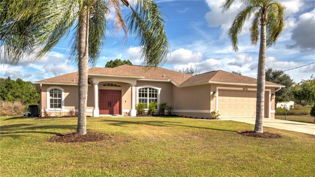 Front - Single Family Home for sale at 6612 Deer Run Rd, North Port, FL 34291 - MLS Number is N6103231