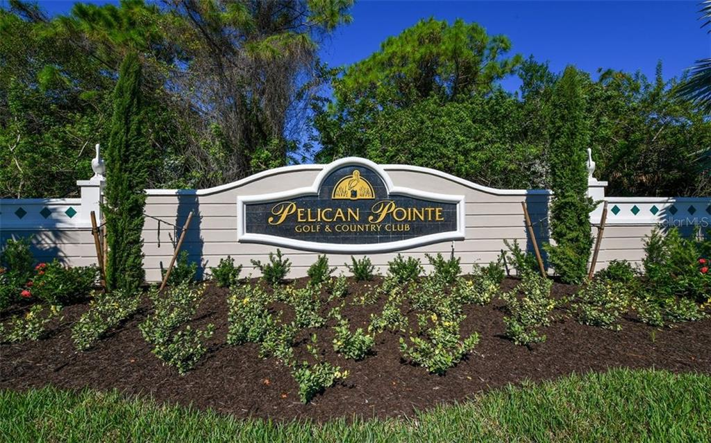 Entrance monument - Single Family Home for sale at 821 Adonis Pl, Venice, FL 34292 - MLS Number is N6104303