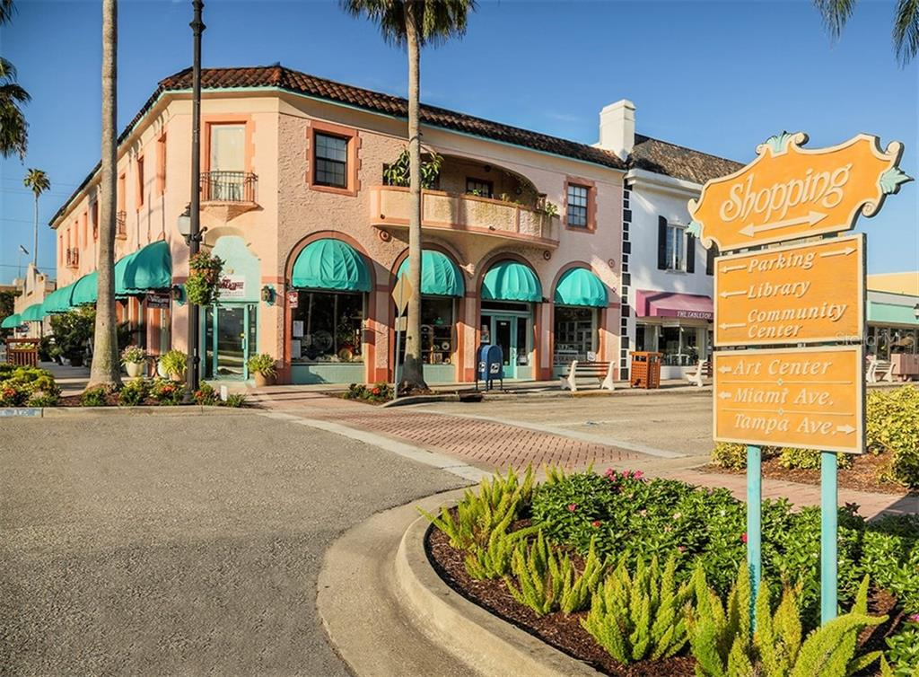 Plenty of shopping in downtown Venice not too far from home! - Single Family Home for sale at 109 Alba St W, Venice, FL 34285 - MLS Number is N6105330