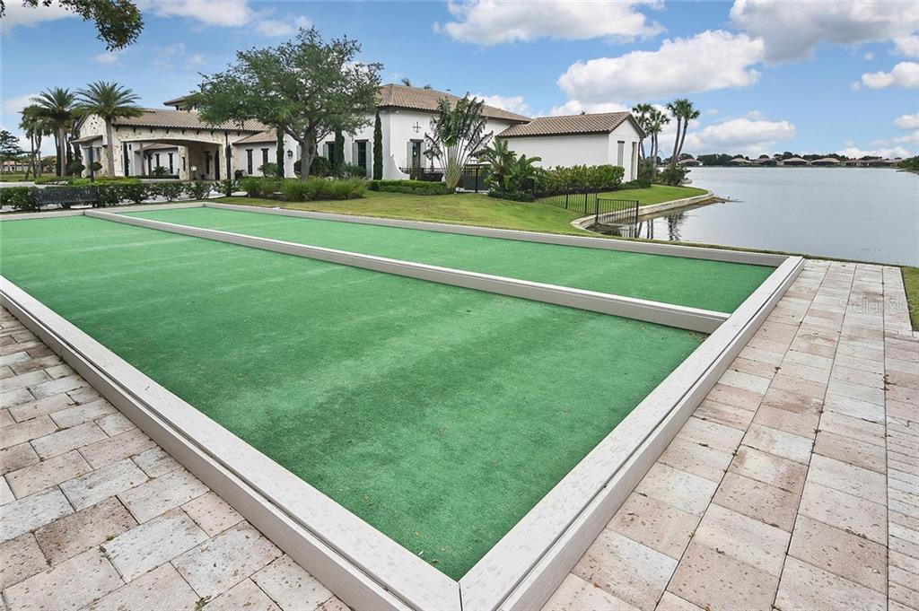 Bocce ball - Single Family Home for sale at 166 Toscavilla Blvd, Nokomis, FL 34275 - MLS Number is N6105654