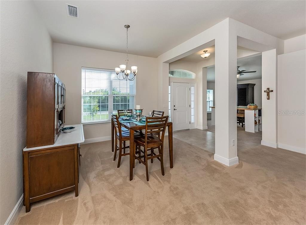 Dining room - Single Family Home for sale at 10449 Redondo St, Port Charlotte, FL 33981 - MLS Number is N6107406