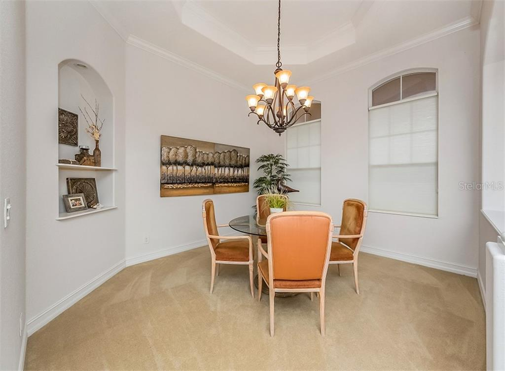 Dining room - Single Family Home for sale at 262 Pesaro Dr, North Venice, FL 34275 - MLS Number is N6107589