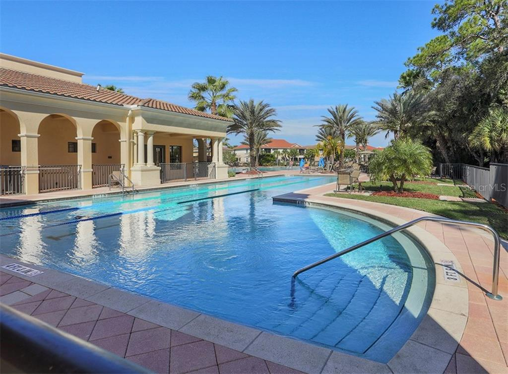 Community Tennis Courts - Single Family Home for sale at 262 Pesaro Dr, North Venice, FL 34275 - MLS Number is N6107589