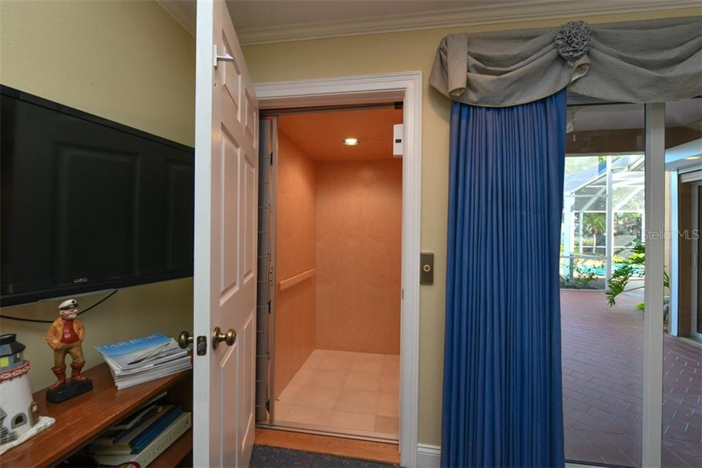 Elevator - Single Family Home for sale at 7785 Manasota Key Rd, Englewood, FL 34223 - MLS Number is N6107786