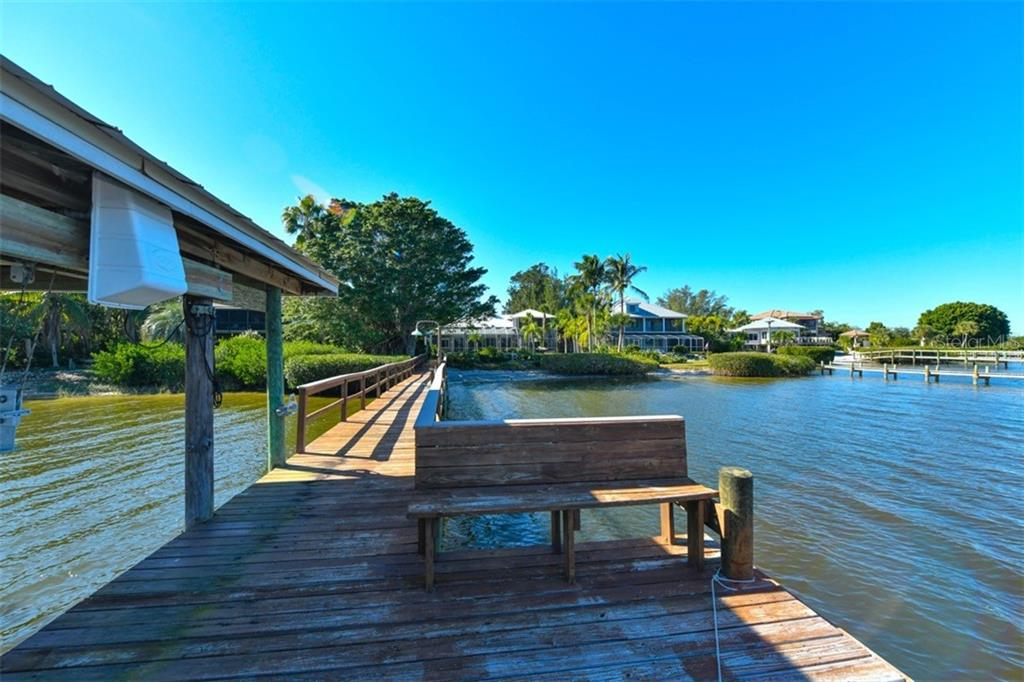 Dock - Single Family Home for sale at 7785 Manasota Key Rd, Englewood, FL 34223 - MLS Number is N6107786
