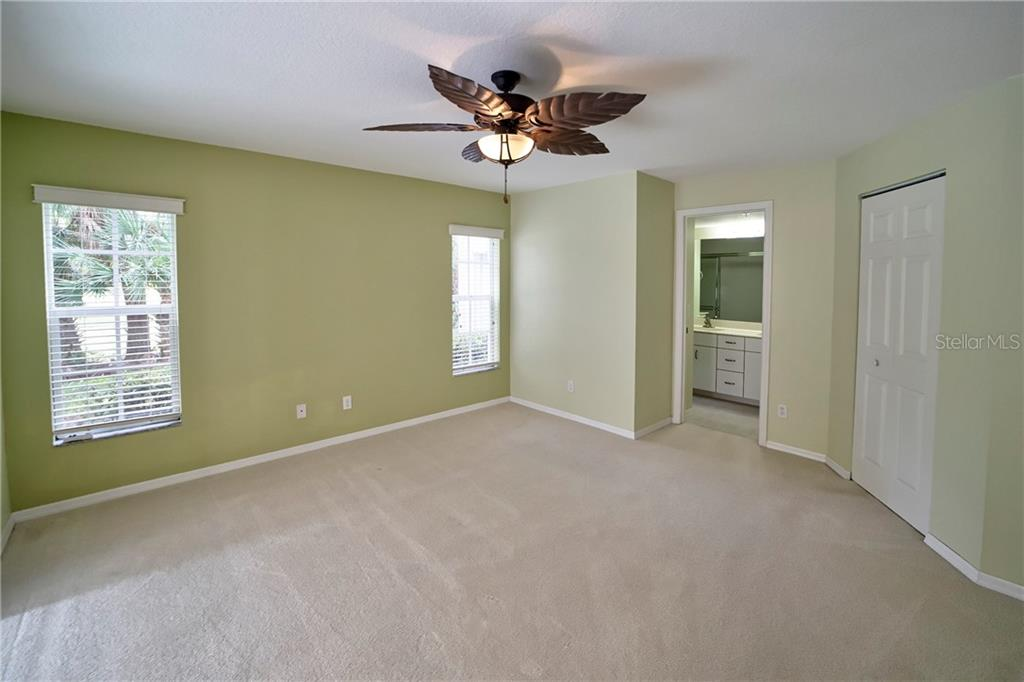 Spacious Master Bedroom - Condo for sale at 815 Montrose Dr #101, Venice, FL 34293 - MLS Number is N6107969