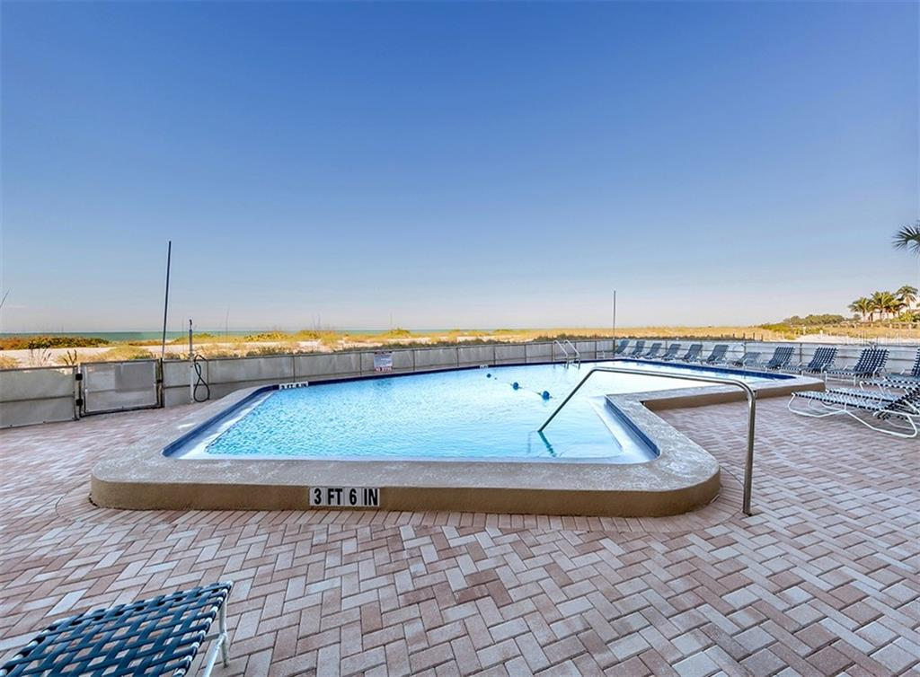 Pool - Condo for sale at 555 The Esplanade N #1004, Venice, FL 34285 - MLS Number is N6109326