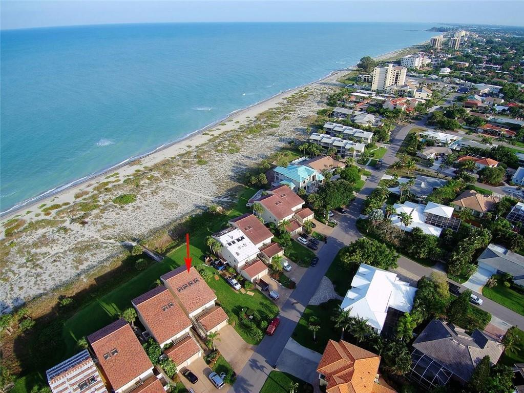 Aerial - Condo for sale at 862 Golden Beach Blvd #862, Venice, FL 34285 - MLS Number is N6110157