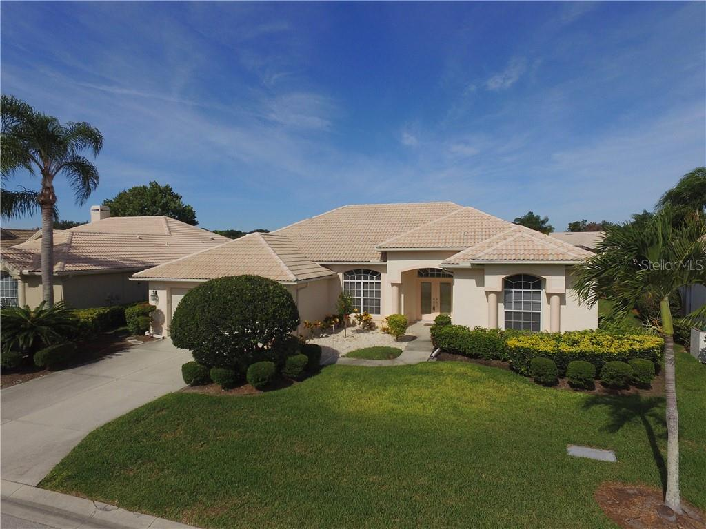 Front - Single Family Home for sale at 413 Pebble Creek Ct, Venice, FL 34285 - MLS Number is N6110166