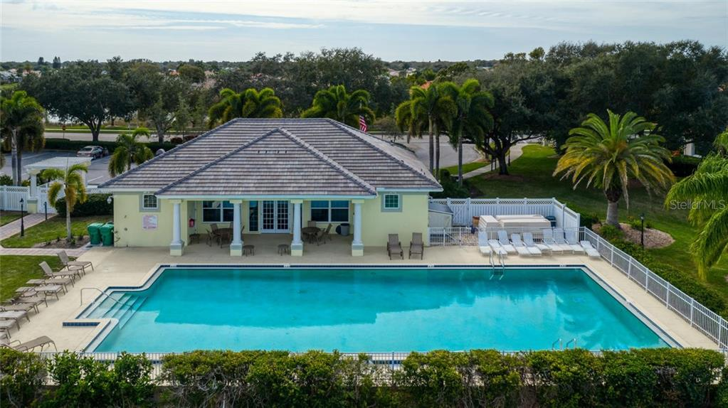 Clubhouse and community pool - Single Family Home for sale at 498 Pine Lily Way, Venice, FL 34293 - MLS Number is N6110849