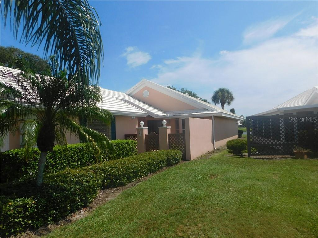 Front Entrance - Villa for sale at 743 Harrington Lake Dr N #29, Venice, FL 34293 - MLS Number is N6111290