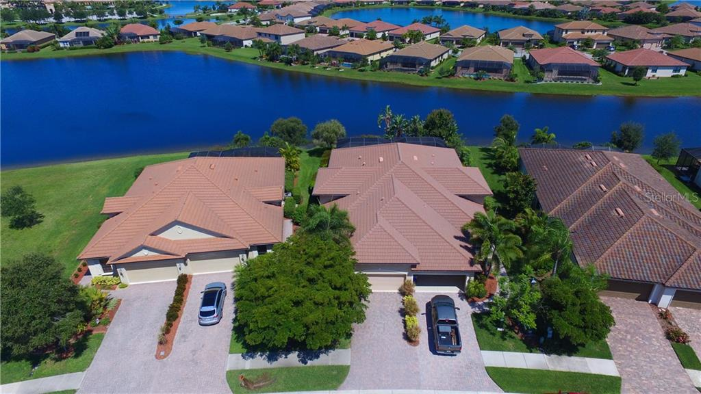 Aerial - Villa for sale at 20117 Tesoro Dr, Venice, FL 34293 - MLS Number is N6111641