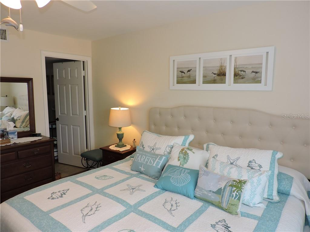 Master Bedroom - Condo for sale at 1041 Capri Isles Blvd #121, Venice, FL 34292 - MLS Number is N6112042