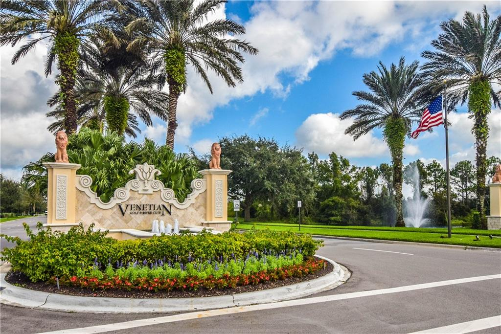 Venetian Golf and River Club entrance - Single Family Home for sale at 154 Rimini Way, North Venice, FL 34275 - MLS Number is N6112459