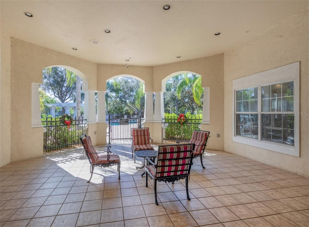 Courtyard. - Condo for sale at 5180 Northridge Rd #103, Sarasota, FL 34238 - MLS Number is N6113134