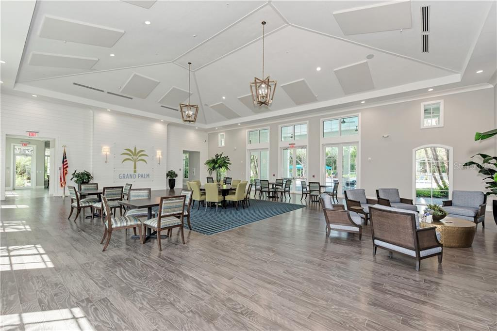 Main Social Room - Villa for sale at 11433 Okaloosa Dr, Venice, FL 34293 - MLS Number is N6113314