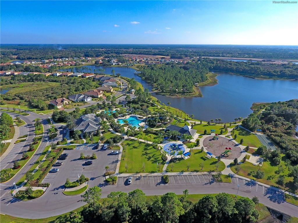 Aerial View - Villa for sale at 11433 Okaloosa Dr, Venice, FL 34293 - MLS Number is N6113314