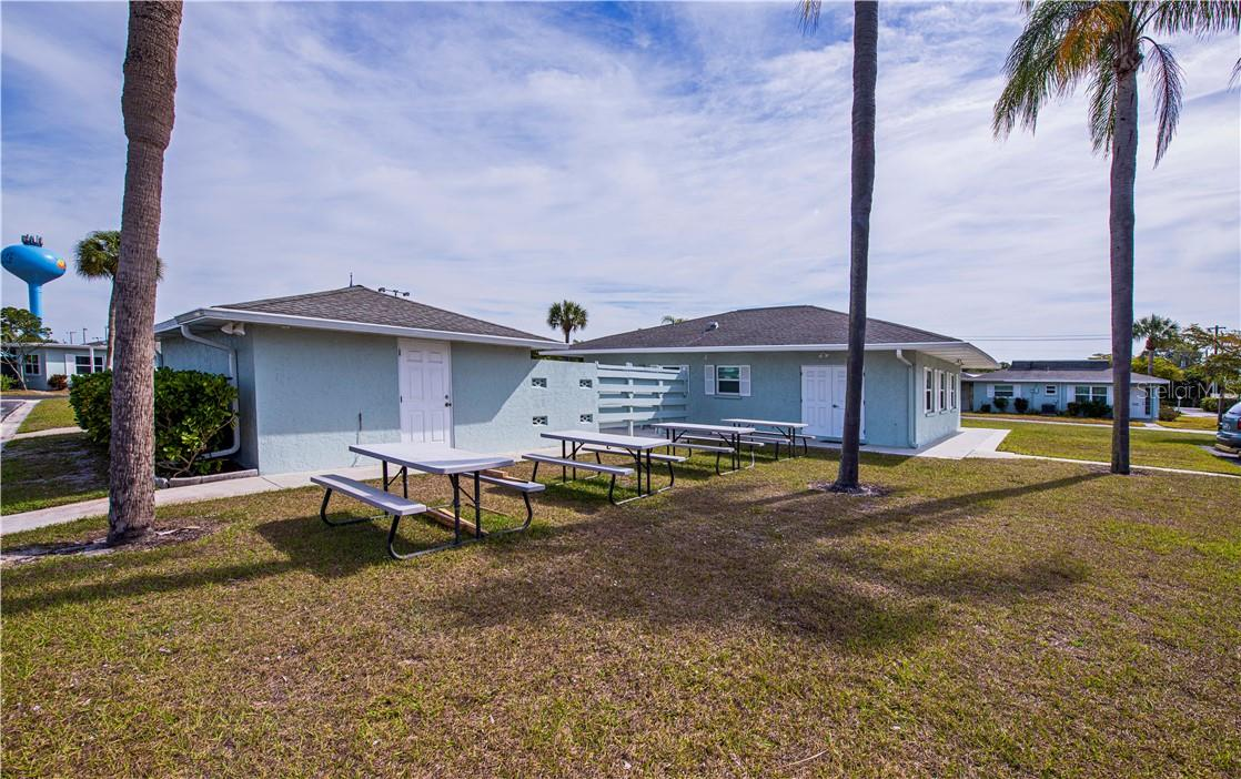 Great clubhouse and also has a laundry room in the same building. Storage room has tools for the residents to borrow if need be. Such a friendly community! - Villa for sale at 1019 Beach Manor Ctr #35, Venice, FL 34285 - MLS Number is N6114592