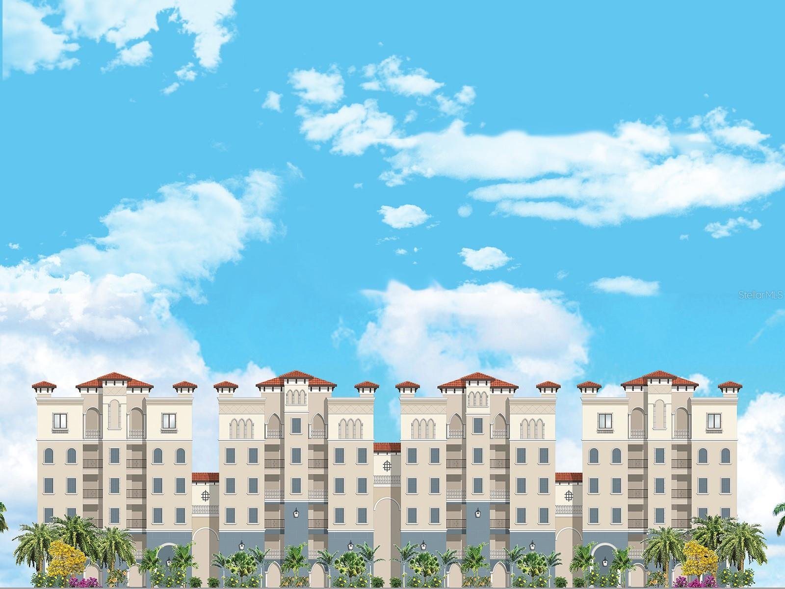 Front Elevation of Condominium - Condo for sale at 505 N Tamami Trail Unit#201 B Trl #201b, Venice, FL 34285 - MLS Number is N6114768