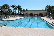 Community lap pool - Single Family Home for sale at 13880 Lido St, Venice, FL 34293 - MLS Number is N5917319
