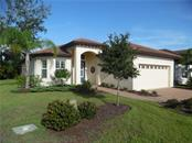 front elevation, home faces west - Single Family Home for sale at 239 Nolen Dr, Venice, FL 34292 - MLS Number is N6101457