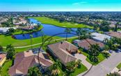 Aerial view - Single Family Home for sale at 979 Chickadee Dr, Venice, FL 34285 - MLS Number is N6102266