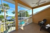 Master balcony overlooking the Intracoastal Waterway - Single Family Home for sale at 7785 Manasota Key Rd, Englewood, FL 34223 - MLS Number is N6107786