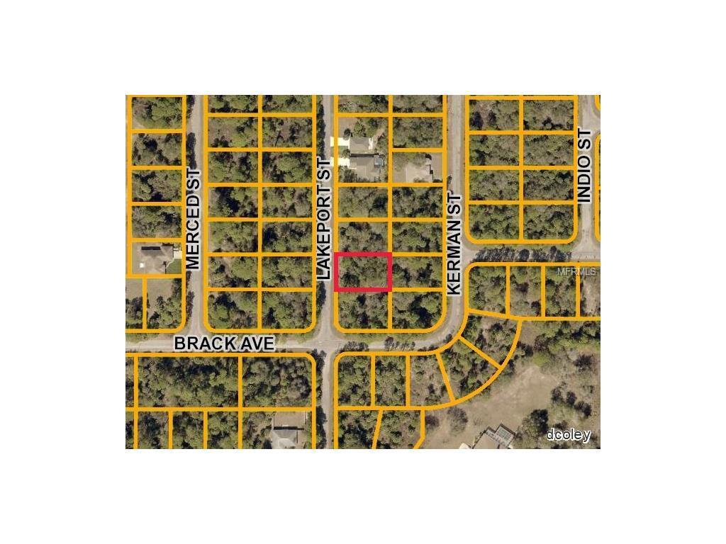 Lakeport St North Port FL  MLS D - Florida map north port