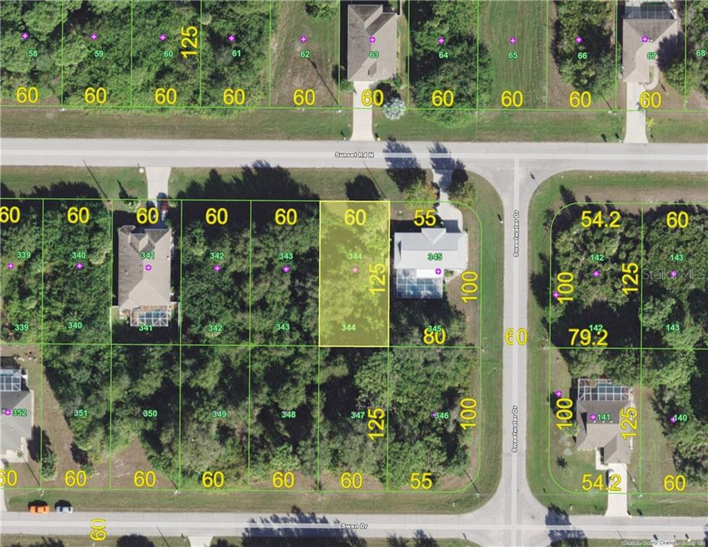 Vacant Land for sale at 501 Sunset Rd N, Rotonda West, FL 33947 - MLS Number is D5921254