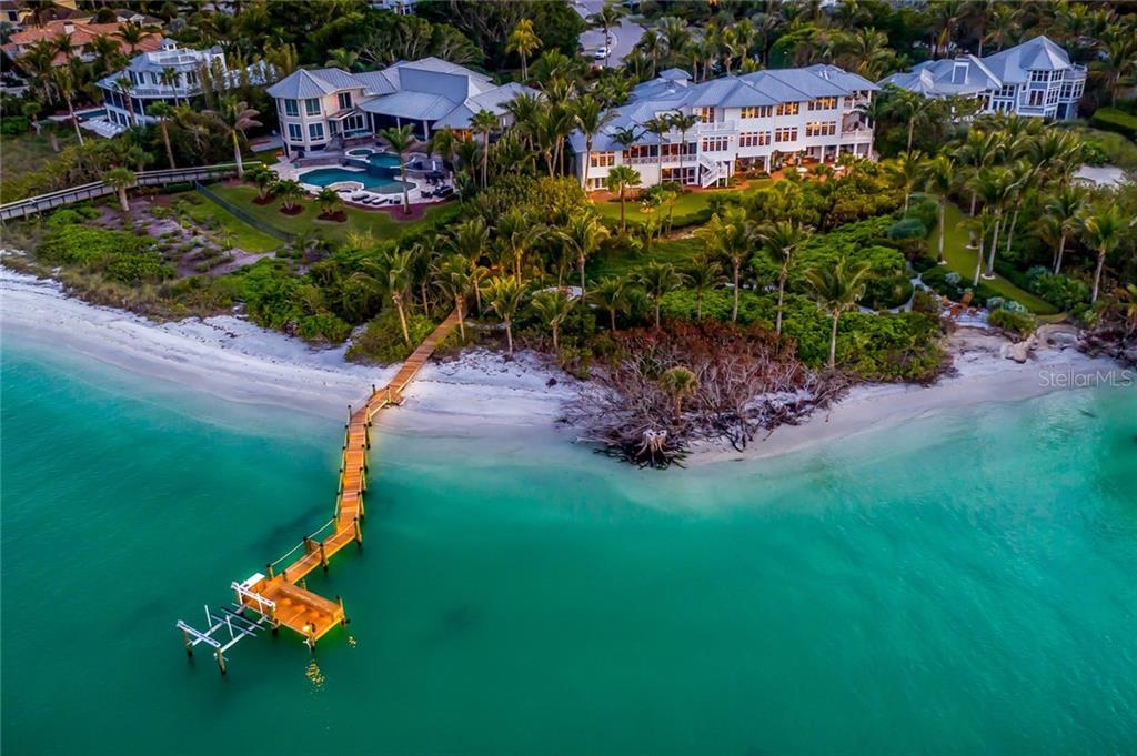Maison unifamiliale pour l Vente à 16160 Sunset Pines Cir 16160 Sunset Pines Cir Boca Grande, Florida,33921 États-Unis