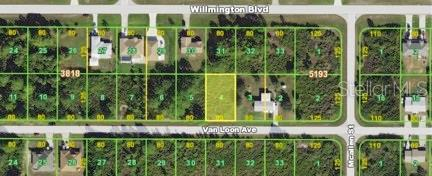 Vacant Land for sale at 12162 Van Loon Ave, Port Charlotte, FL 33981 - MLS Number is D5923863