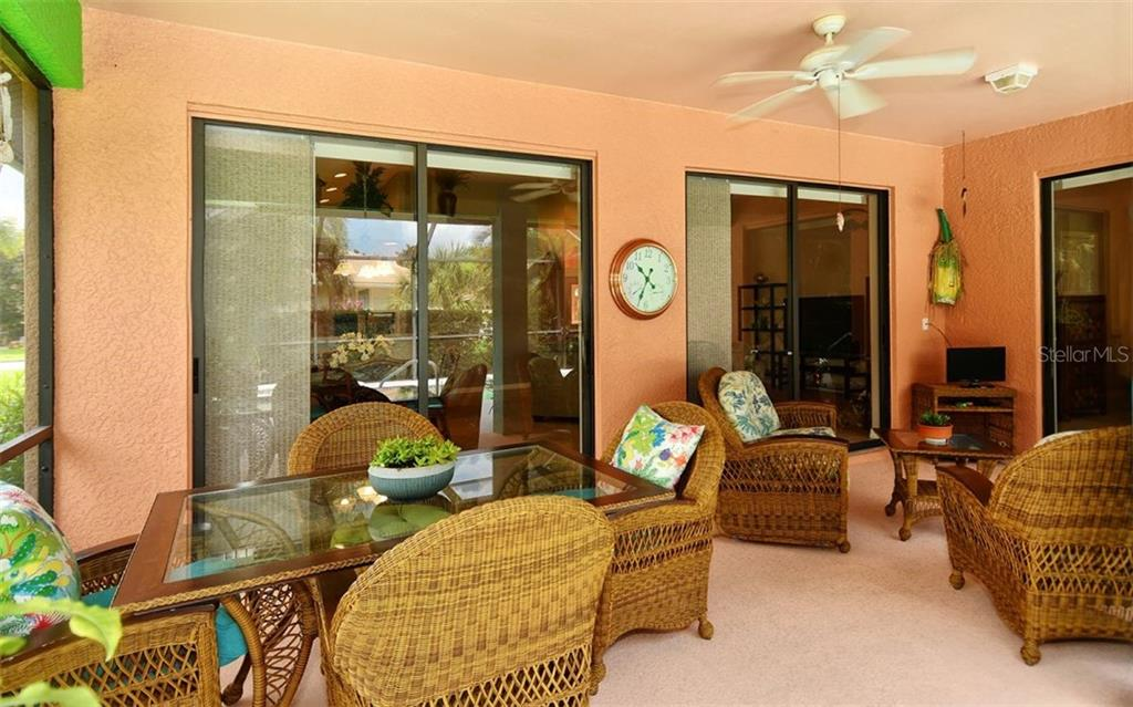 2nd Space on Lanai that extends from Dining area to expand your entertaining - Single Family Home for sale at 1141 Arbroid Dr, Englewood, FL 34223 - MLS Number is D6101353