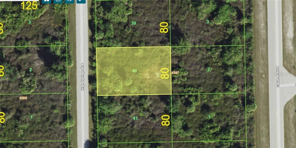 New Supplement - Vacant Land for sale at 13508 High Springs Ave, Port Charlotte, FL 33981 - MLS Number is D6101638