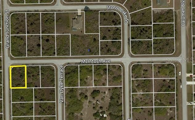 New Supplement - Vacant Land for sale at 10432 Grand Junction St, Port Charlotte, FL 33981 - MLS Number is D6101643