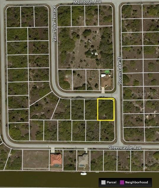 New Supplement - Vacant Land for sale at 10511 Van Wyck Ter, Port Charlotte, FL 33981 - MLS Number is D6101647