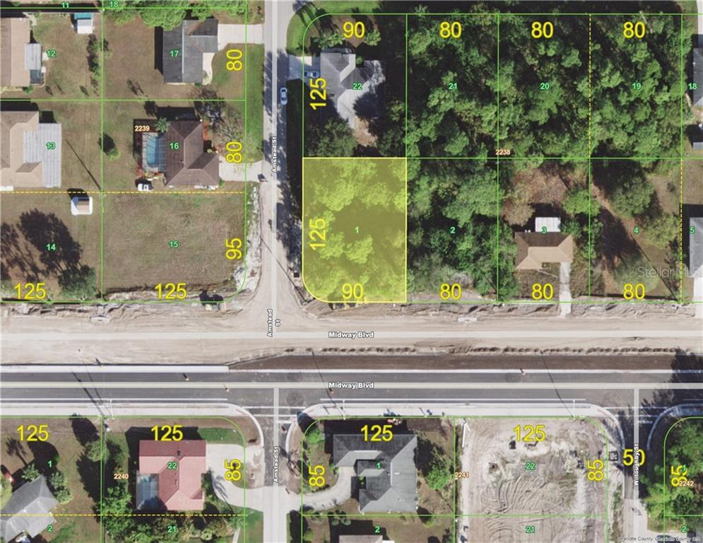 Vacant Land for sale at 1646 Amstead St, Port Charlotte, FL 33980 - MLS Number is D6102170