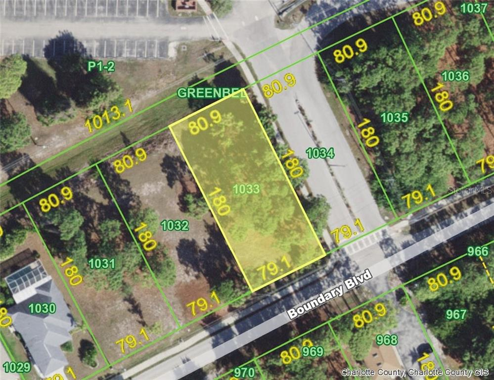 Vacant Land for sale at 465 Boundary (lot 1033) Blvd, Rotonda West, FL 33947 - MLS Number is D6106272