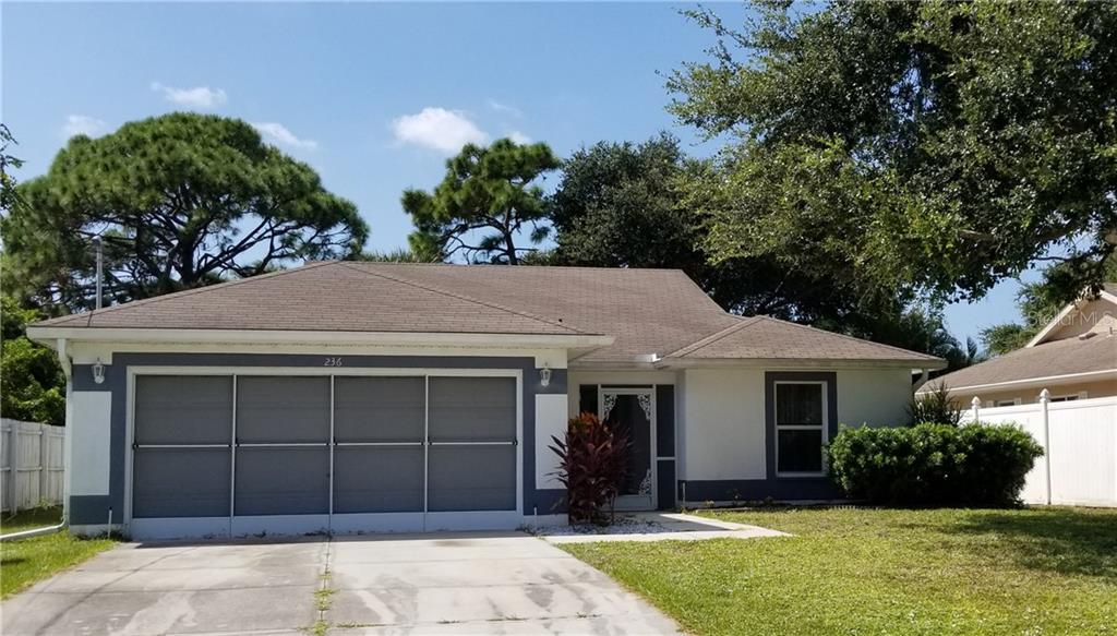 Property Disclosure - Single Family Home for sale at 236 Cougar Way, Rotonda West, FL 33947 - MLS Number is D6108834
