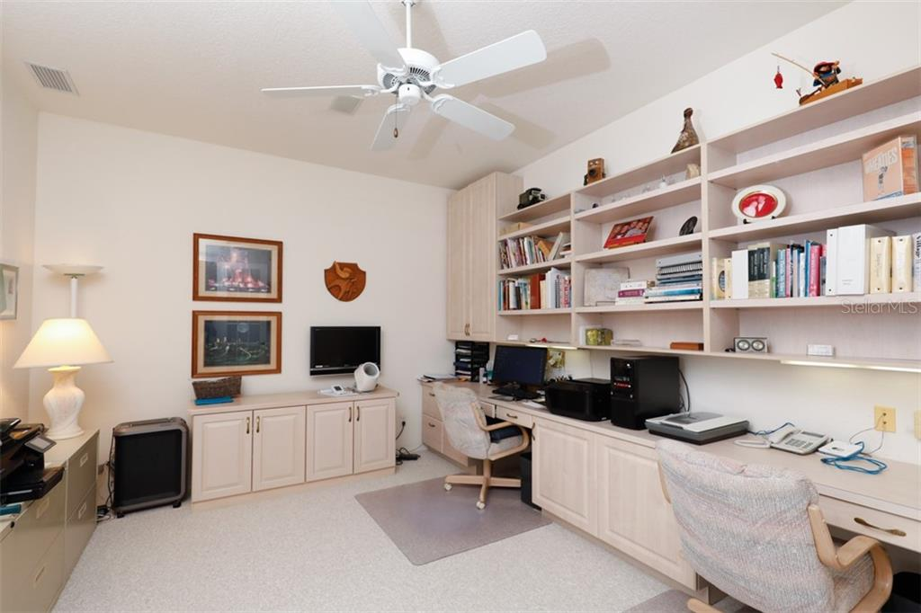 OFFICE/DEN - MANY BUILT-INS - Single Family Home for sale at 6793 Manasota Key Rd, Englewood, FL 34223 - MLS Number is D6112093