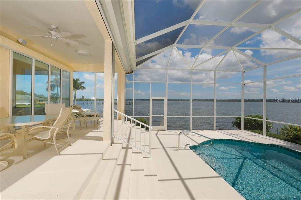 LARGE LANAI AND POOL - Single Family Home for sale at 6793 Manasota Key Rd, Englewood, FL 34223 - MLS Number is D6112093