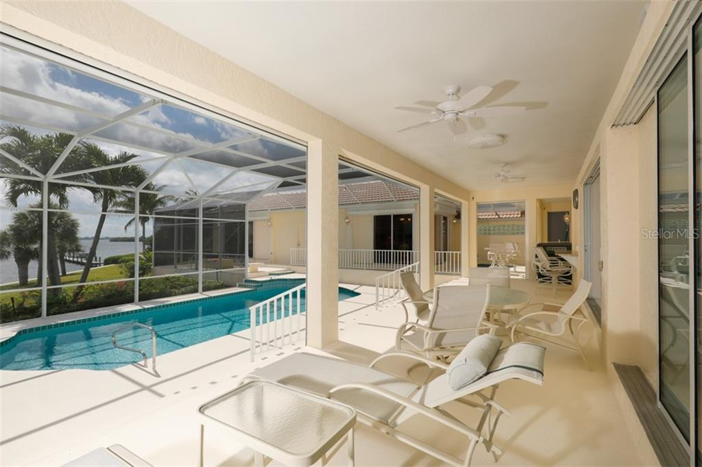 LANAI AND POOL - Single Family Home for sale at 6793 Manasota Key Rd, Englewood, FL 34223 - MLS Number is D6112093