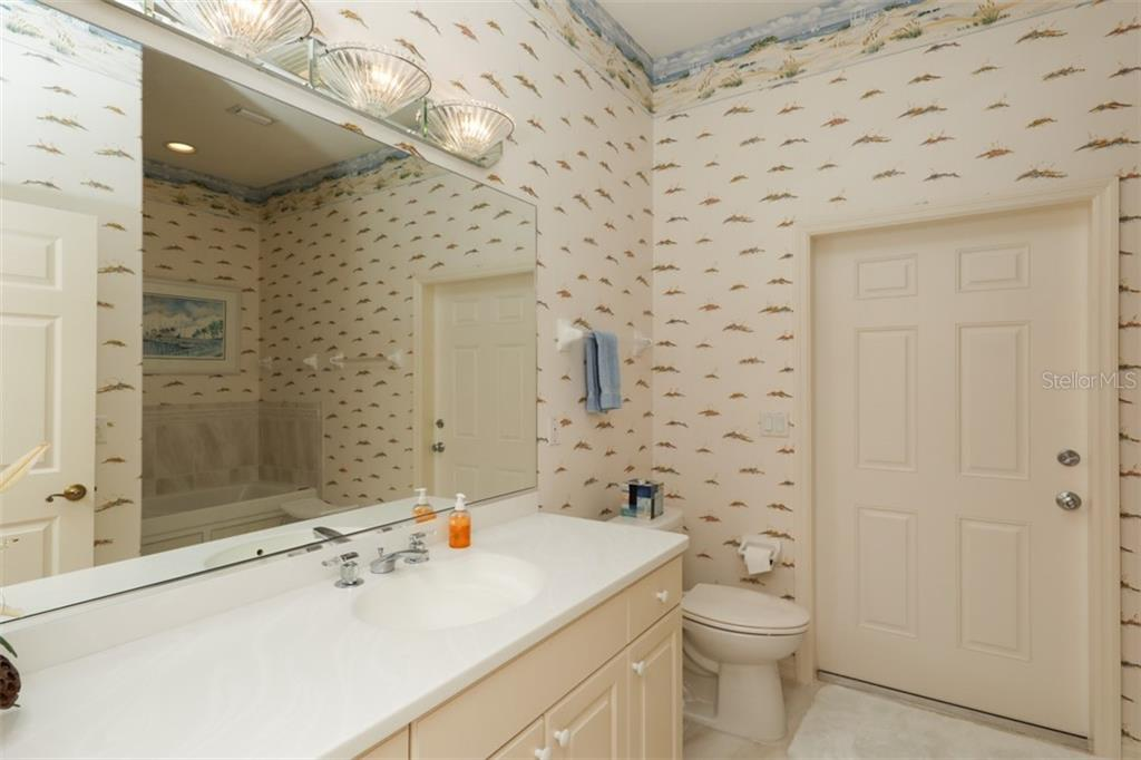 GUEST HOUSE BATH - Single Family Home for sale at 6793 Manasota Key Rd, Englewood, FL 34223 - MLS Number is D6112093