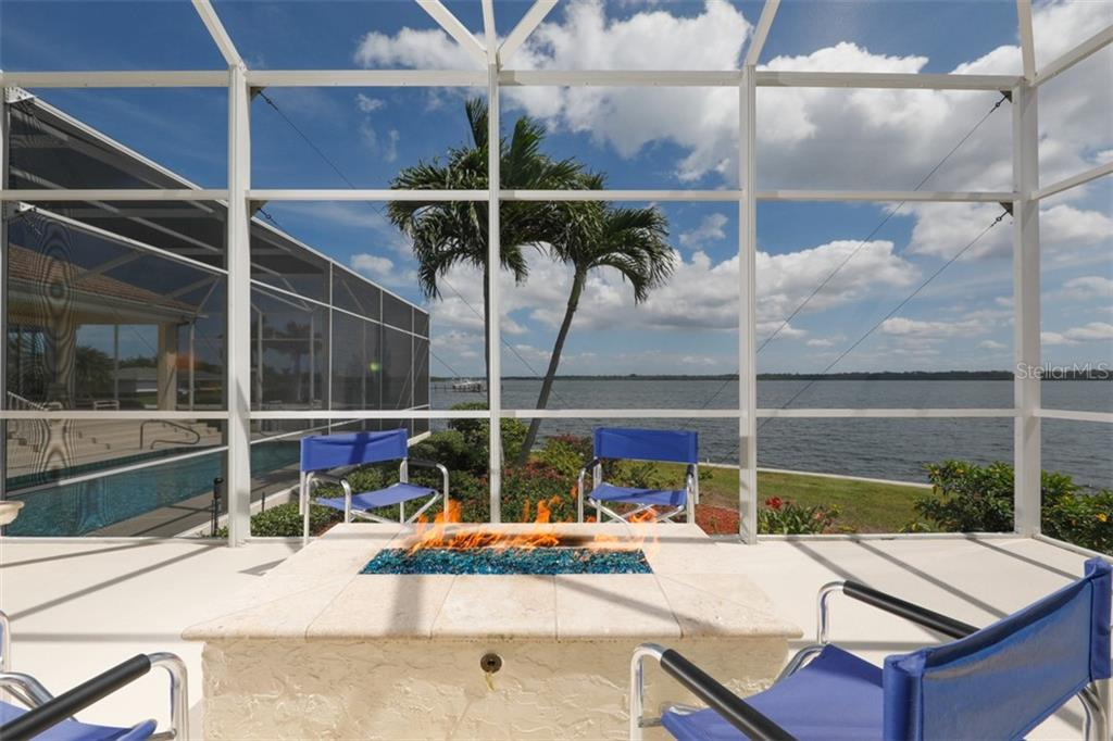 FIRE PIT - Single Family Home for sale at 6793 Manasota Key Rd, Englewood, FL 34223 - MLS Number is D6112093