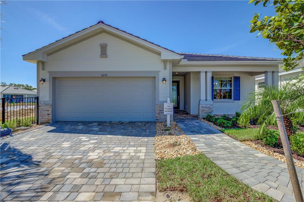 Floor Plan - Single Family Home for sale at 20881 Cattail Blvd, Venice, FL