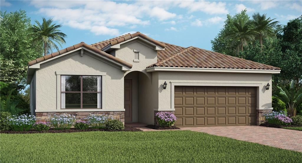 Floor Plan - Single Family Home for sale at 12881 Cinqueterre Dr, Venice, FL 34293 - MLS Number is T3162974