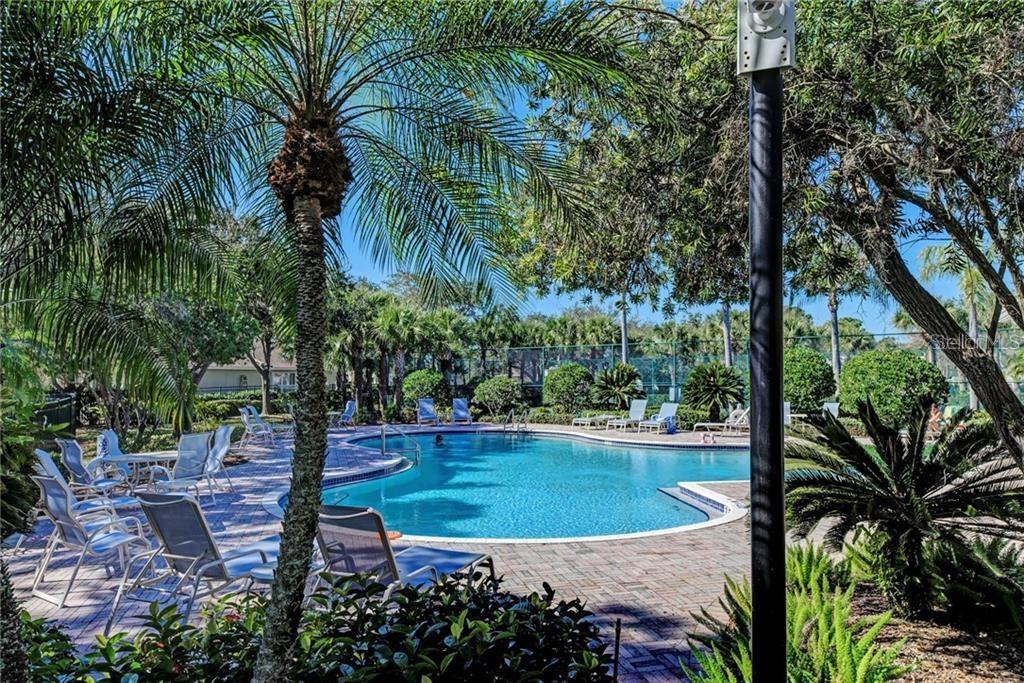Community Pool - Single Family Home for sale at 5386 Creekside Trl, Sarasota, FL 34243 - MLS Number is U8064995