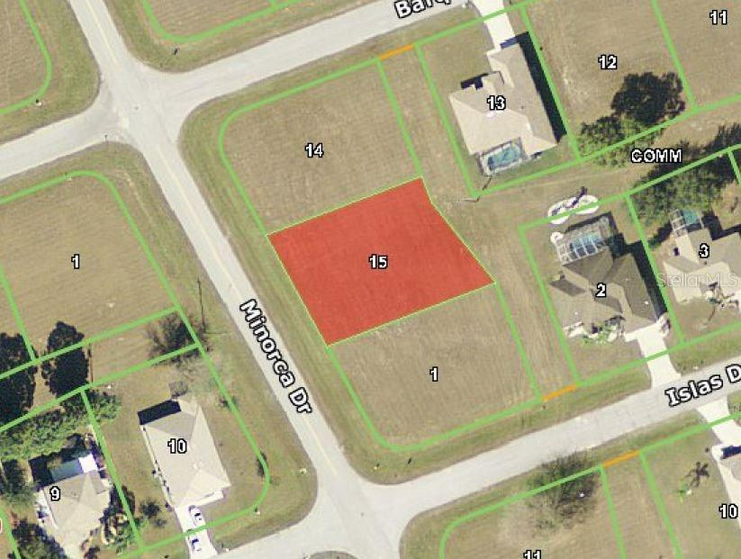 Vacant Land for sale at 16216 Minorca Dr, Punta Gorda, FL 33955 - MLS Number is C7226193