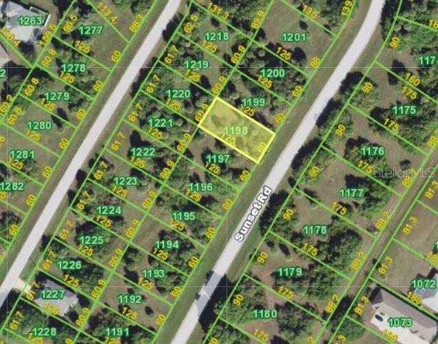 Vacant Land for sale at 216 Sunset Rd N, Rotonda West, FL 33947 - MLS Number is C7251381