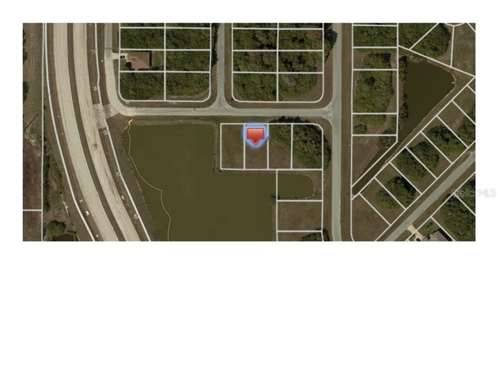 Aerial view of water lot - Vacant Land for sale at 119 Rifle Rd, Rotonda West, FL 33947 - MLS Number is C7406393